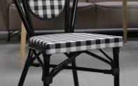43 terrasstoel tuinstoel zwart wit terras horeca restaurant hal54