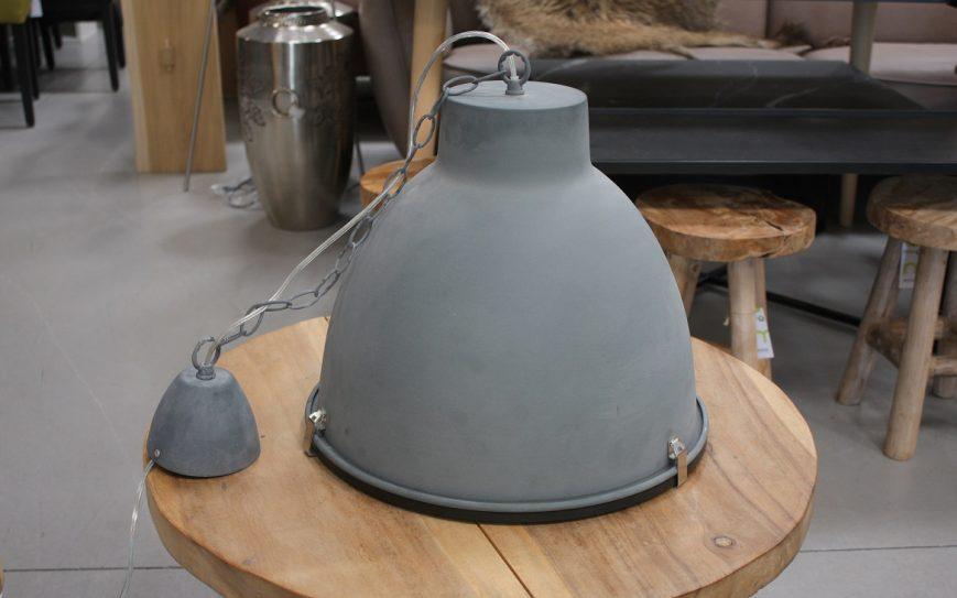 52 hanglamp grijs metaal beton industrieel hal54