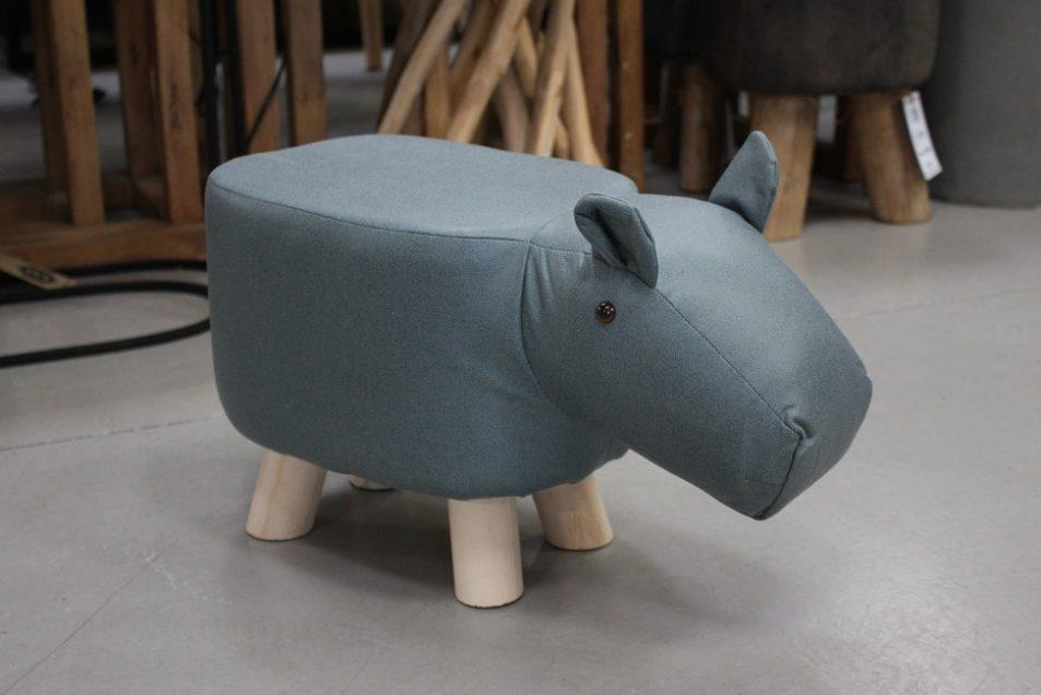 32f poefjes krukjes olifant nijlpaard stof kinderen speelgoed kinderkamer hal54