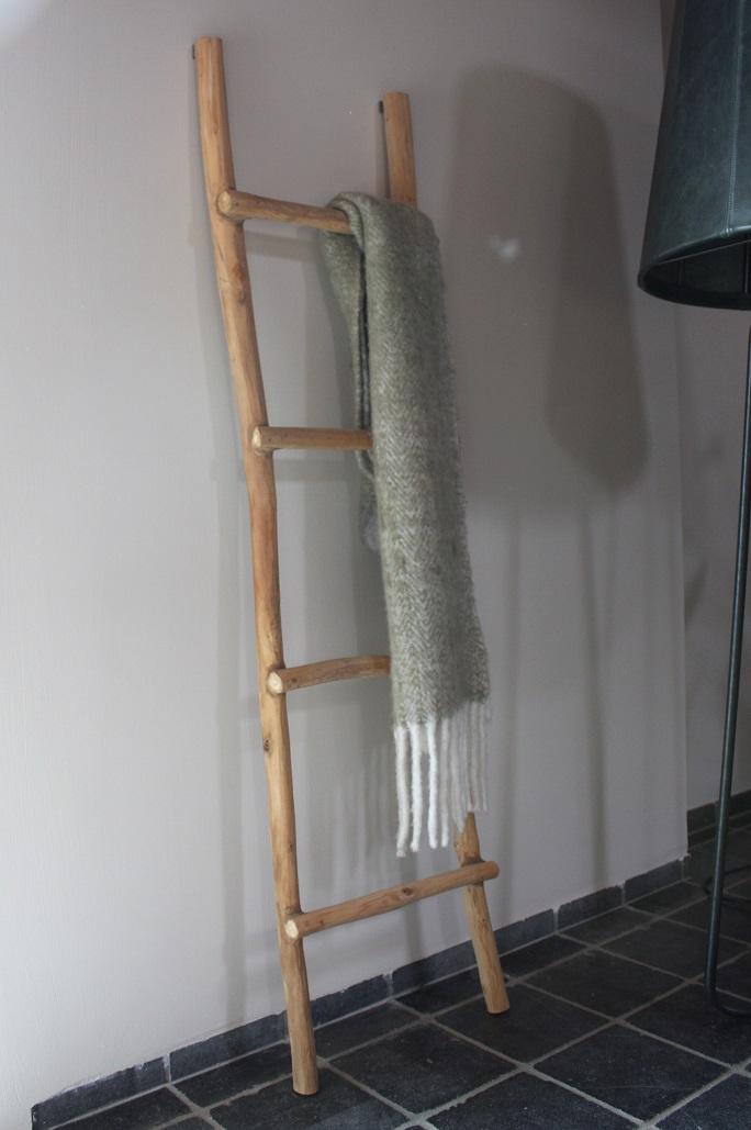 Decoratieve Houten Ladder Hal54 Nl