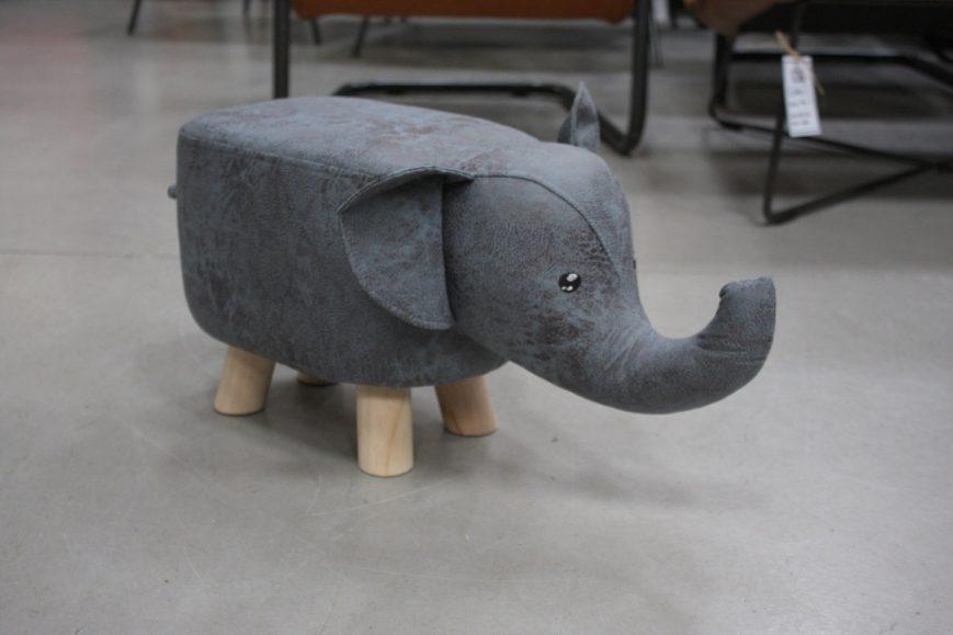 32m poefjes krukjes olifant nijlpaard stof kinderen speelgoed kinderkamer hal54