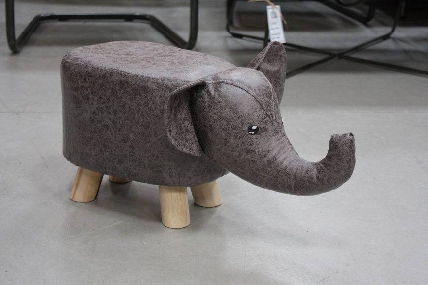 32o poefjes krukjes olifant nijlpaard stof kinderen speelgoed kinderkamer hal54
