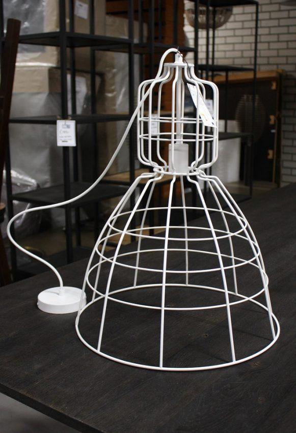 3 hanglamp Gaby Light & Living metaal wit industrieel hal54